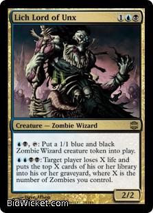 Lich Lord of Unx, Alara Reborn, Magic the Gathering
