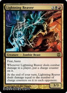 Lightning Reaver, Alara Reborn, Magic the Gathering