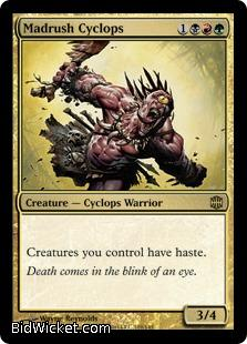 Madrush Cyclops, Alara Reborn, Magic the Gathering