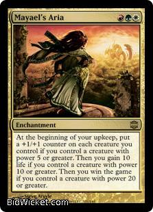 Mayael's Aria, Alara Reborn, Magic the Gathering