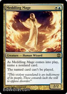 Meddling Mage, Alara Reborn, Magic the Gathering