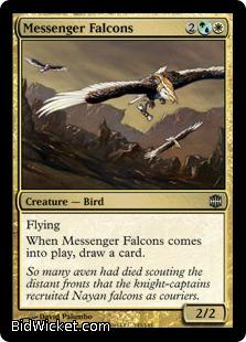 Messenger Falcons, Alara Reborn, Magic the Gathering