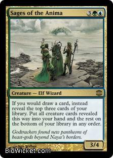 Sages of the Anima, Alara Reborn, Magic the Gathering