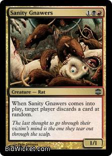 Sanity Gnawers, Alara Reborn, Magic the Gathering