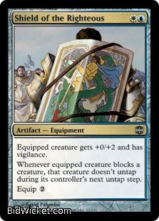 Shield of the Righteous, Alara Reborn, Magic the Gathering