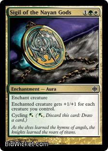 Sigil of the Nayan Gods, Alara Reborn, Magic the Gathering