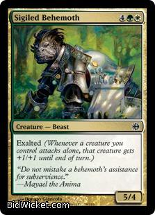 Sigiled Behemoth, Alara Reborn, Magic the Gathering