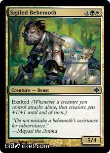 Sigiled Behemoth, Alara Reborn, Magic the Gathering