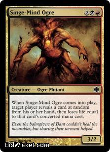 Singe-Mind Ogre, Alara Reborn, Magic the Gathering