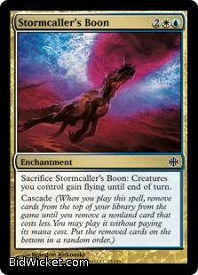 Stormcaller's Boon, Alara Reborn, Magic the Gathering