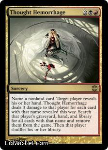 Thought Hemorrhage, Alara Reborn, Magic the Gathering