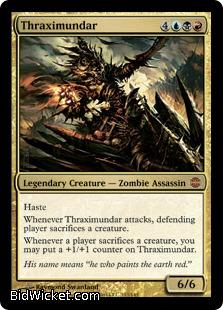 Thraximundar, Alara Reborn, Magic the Gathering