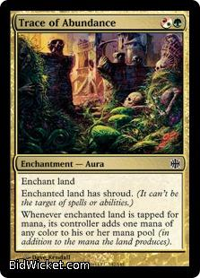 Trace of Abundance, Alara Reborn, Magic the Gathering