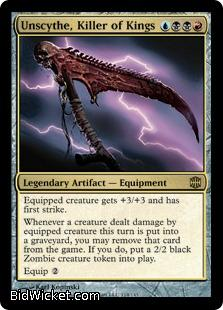 Unscythe, Killer of Kings, Alara Reborn, Magic the Gathering