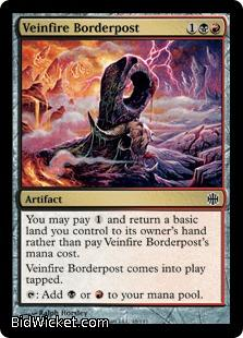Veinfire Borderpost, Alara Reborn, Magic the Gathering