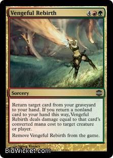 Vengeful Rebirth, Alara Reborn, Magic the Gathering