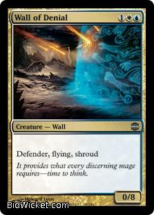 Wall of Denial, Alara Reborn, Magic the Gathering