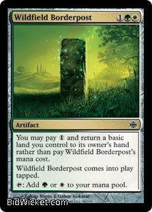 Wildfield Borderpost, Alara Reborn, Magic the Gathering