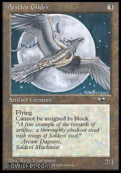 Aesthir Glider (2), Alliances, Magic the Gathering