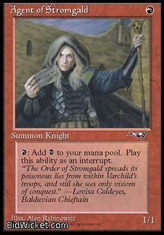 Agent of Stromgald (1), Alliances, Magic the Gathering