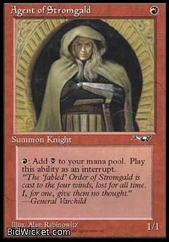 Agent of Stromgald (2), Alliances, Magic the Gathering