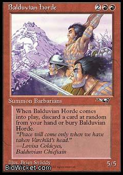Balduvian Horde, Alliances, Magic the Gathering