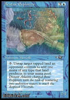 Benthic Explorers (1), Alliances, Magic the Gathering