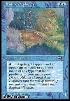Benthic Explorers (1), Alliances, Magic the Gathering