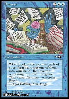 Browse, Alliances, Magic the Gathering