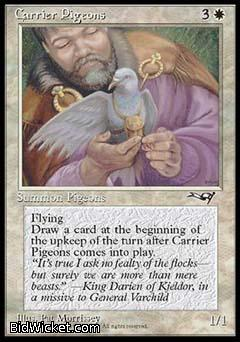 Carrier Pigeons (1), Alliances, Magic the Gathering