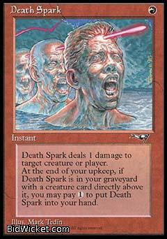 Death Spark, Alliances, Magic the Gathering