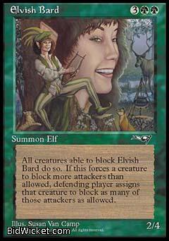 Elvish Bard, Alliances, Magic the Gathering