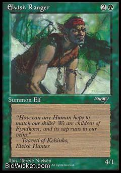 Elvish Ranger (1), Alliances, Magic the Gathering