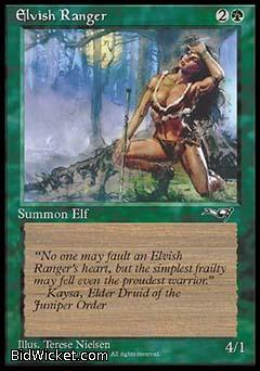 Elvish Ranger (2), Alliances, Magic the Gathering