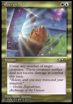 Energy Arc, Alliances, Magic the Gathering