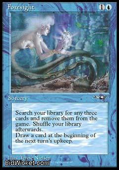 Foresight (2), Alliances, Magic the Gathering