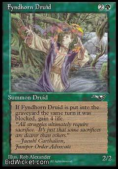 Fyndhorn Druid (1), Alliances, Magic the Gathering