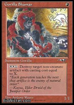 Gorilla Shaman (2), Alliances, Magic the Gathering
