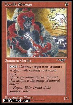 Gorilla Shaman (2), Alliances, Magic the Gathering
