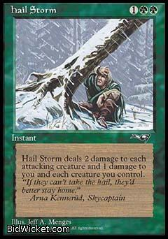 Hail Storm, Alliances, Magic the Gathering