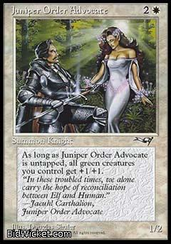 Juniper Order Advocate, Alliances, Magic the Gathering