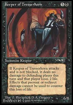 Keeper of Tresserhorn, Alliances, Magic the Gathering