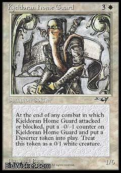Kjeldoran Home Guard, Alliances, Magic the Gathering