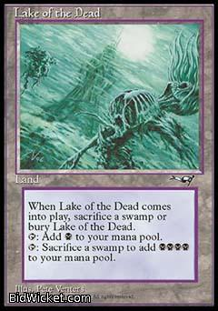 Lake of the Dead, Alliances, Magic the Gathering