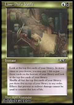 Lim-Dul's Vault, Alliances, Magic the Gathering