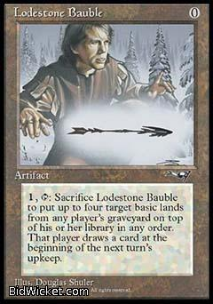 Lodestone Bauble, Alliances, Magic the Gathering