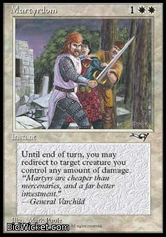 Martyrdom (1), Alliances, Magic the Gathering
