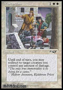 Martyrdom (2), Alliances, Magic the Gathering