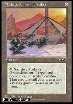 Mishra's Groundbreaker, Alliances, Magic the Gathering