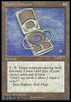Mystic Compass, Alliances, Magic the Gathering